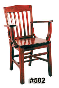 schoolhouse Arm chair #502